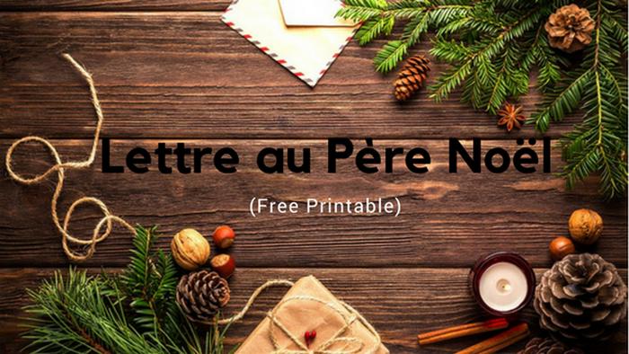 free printable noël, lettre père noël, papier lettre noel
