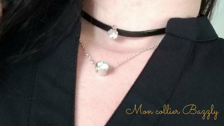 Collier bazzly, mode, bijoux