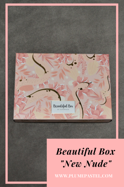 Beautiful box new nude, janvier 2018